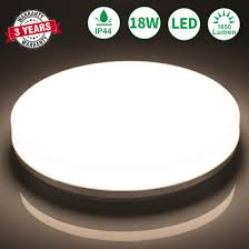Bathroom Ceiling Lightöuesen Led Ceiling Light 18w 1650lm Ip44
