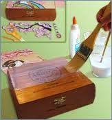 Decorating Cigar Boxes Cigar Box Crafts Pinteres 16