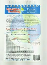 Precision Trolling 6th Edition The Trollers Bible Walleye Crankbait Depths