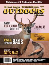 Great Days Outdoors September 2016 By Trendsouth Media Issuu