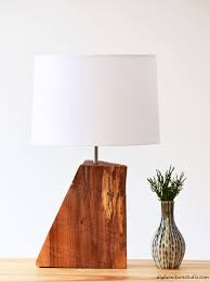 how to build rustic furniture.  Furniture DIY Rustic Natural Wood Table Lamp Tutorial And How To Build Rustic Furniture R