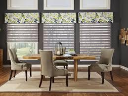 ... formal dining room window treatments ...