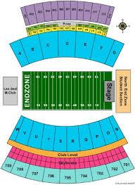Davis Wade Stadium Seating Chart Davis Wade Stadium At Scott Field Tickets And Davis Wade