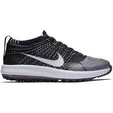 Nike Pattern Shoes Gorgeous Nike Flyknit Racer G Women's Golf Shoe BlackWhite