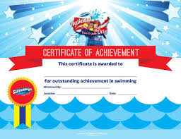 5 Swimming Certificate Templates Free Download