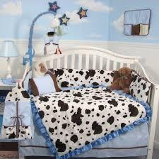 cute cow crib bedding sets baby boy