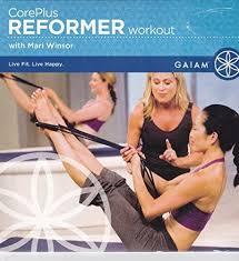 Amazon Com Gaiam Core Plus Reformer Workout With Mari