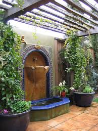 Small Picture Chic Patio Wall Fountain 17 Best Ideas About Patio Fountain On