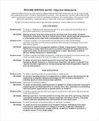 value statement examples for resumes resume value statement old version old version resume objectives for