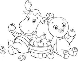 Small Picture Backyardigans Coloring Pages GetColoringPagescom