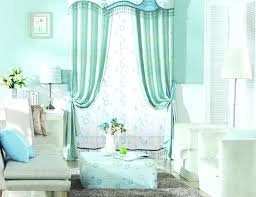 Light Teal Curtain Blue Curtains Bedroom White And For Shower ...