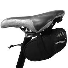 roswheel 13567 a mountain road bike bicycle bag cycling saddle seat compact padded tail bag