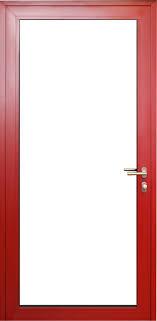 Wood Aluminum Triple Pane Doors