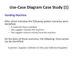 Vending Machine Use Case Enchanting Use Case Diagrams