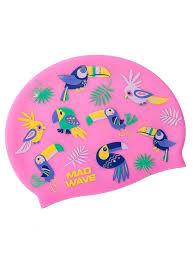 <b>Шапочка</b> PARROTS <b>Mad Wave</b> 9844141 в интернет-магазине ...