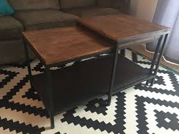 coffee table contemporary ikea solid wood coffee table luxury ikea nesting tables set 3 castrophotos