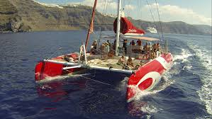 Dream Catcher Boat Santorini Santorini Sailing SantoriniPartyCom 1