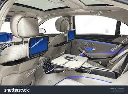 Car Back Seat Light Car Inside Interior Prestige Modern Car Transportation