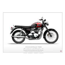 triumph bonneville t100 bike msh 01 aviationgraphic