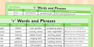 Another Word For To Do List Enchanting R Word List R Word List R Word List Word List Words Sen