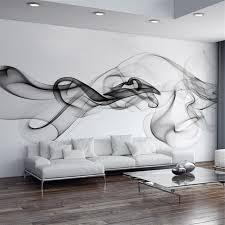 3d wall designs bedroom. Brilliant Bedroom Custom Photo Wallpaper Modern 3D Wall Mural Black White Smoke Fog  Art Design Bedroom Office Inside 3d Designs L