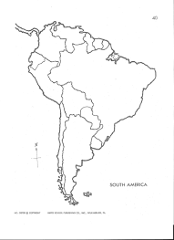 Latin America Blank Map Maths Equinetherapies Co In Likeat Me