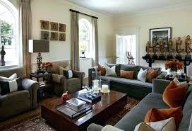 Black Furniture Living Room Ideas Gorgeous Living Room Curtain Ideas With Black Sofa Furniture And White