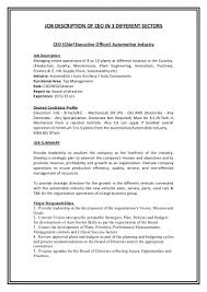Account Management Job Description Executive Job Descriptions Papei Resumes 23