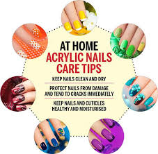 acrylic nails care tips and removal
