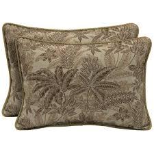 lumbar outdoor throw pillows