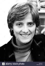Portrait de Petra Kelly, porte-parole au Bundestag pour les Verts. Petra  Kelly a été un