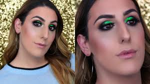 how the grinch stole your man makeup tutorial holiday makeup