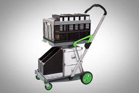 Fabulous Folding Service Cart Clax 2 Shelf Folding Compact Platform