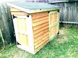 riding mower storage shed push lawn diy build s