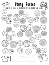 Money Coloring Sheets Play Pages For Viettiinfo