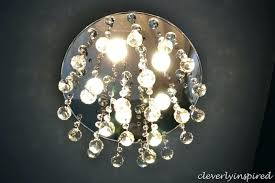 change ceiling light bulb chandelier
