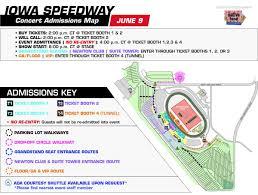 Metallica Iowa Speedway Seating Chart
