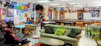 classroom eye candy 3 the funky science lab cult of pedagogy other popular places to sit include the papasan on the floor around the coffee tables often on pillows and on my small stools