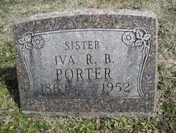 Iva Arabell Ivy Porter (1869-1952) - Find A Grave Memorial