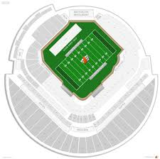 Tropicana Field Seating Chart With Rows Tropicana Field Football Seating Rateyourseats Com