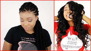 Hairstyles Without Weave Wearing Weaves To Grow Out Natural Hair For Protective Hairstyles