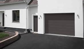 grey garage door installation
