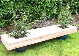 living furniture garden planter bench awesome press calculator outdoor seats with boxes planter benches