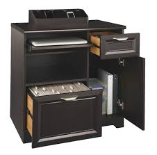 Hidden Printer Cabinet Printer Stands At Office Depot Officemax