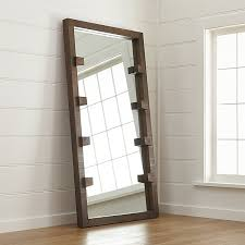 Image Brass Crate And Barrel Stilt Floor Mirror Reviews Crate And Barrel