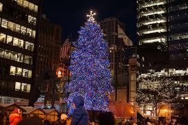 christmas tree lighting chicago. Millennium Park Christmas Tree Lighting Chicago
