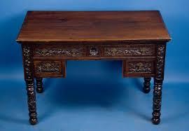 image of decoration antique writing desk