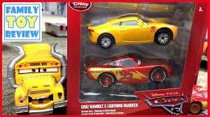 disney cars 3 toys review cruz ramirez gold metallic paint lightning mcqueen cast toys cars