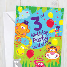 kids birthday party invitations childrens birthday invitations woodies party