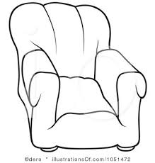couch clipart black and white. pin chair clipart couch #4 black and white